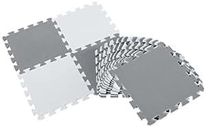 BabyLeisure Puzzle Floor Mat, Grey