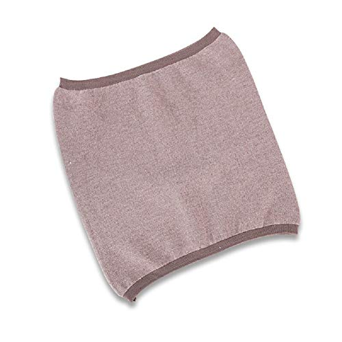 - 1 Piece Slim Elastic Waist Protector Stomach Warmer No-Trace Cashmere Winter Abdominal Wrap Support Thermal Waistband Kidney Binder for Women (Camel)