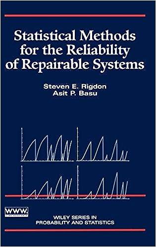 Métodos Estadísticos para la Confiabilidad de Sistemas Reparables