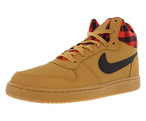 Basket Nike heather Court Uomo Da Mid Borough Scarpe Grey CwS7q6Xw