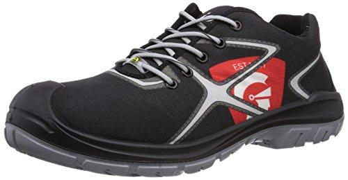 Jori Jo_smoothly Hommes Peu S3 Esd Chaussures De Sécurité Noir (noir)