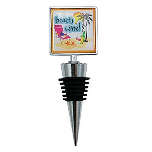 - Wine Bottle Stoppers Gift (Beach Wine)