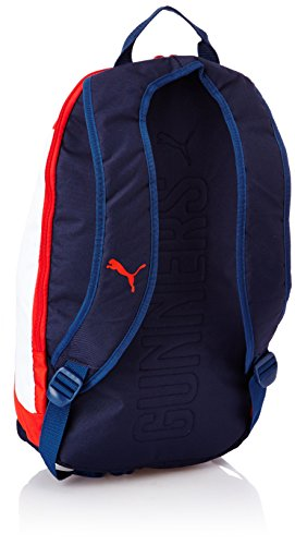 763338f463c7 Puma 072865 CM - 01 Arsenal Graphic Rucksack Backpack-Red Estate  Blue-White