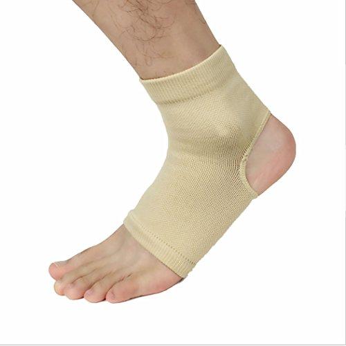 VENI MASEE Plantar Fasciitis Compression Ankle Support Sleeve Unisex socks (pack of 1 pair) Nude