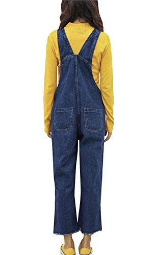 Jeans bleu Bleu Salopette COCO clothing bleu Femme wCqIBU