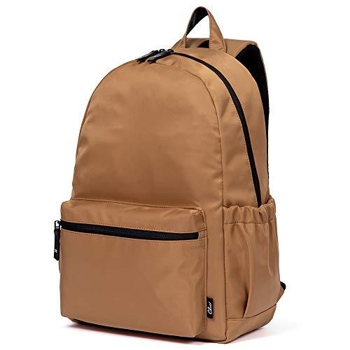 CLUCI Backpack for Women Nylon Fashion Large Lightweight School Travel laptop Waterproof Ladies Shoulder Bag