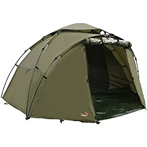 TFG TF Gear Force 8 2 Man Carp Fishing Twin Skin Bivvy Tent With Ground Sheet