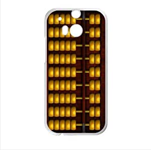 Best Seller Case - Classical Chinese Abacus Design HTC One M8 (Laser Technology) Case, Cell Phone Cover