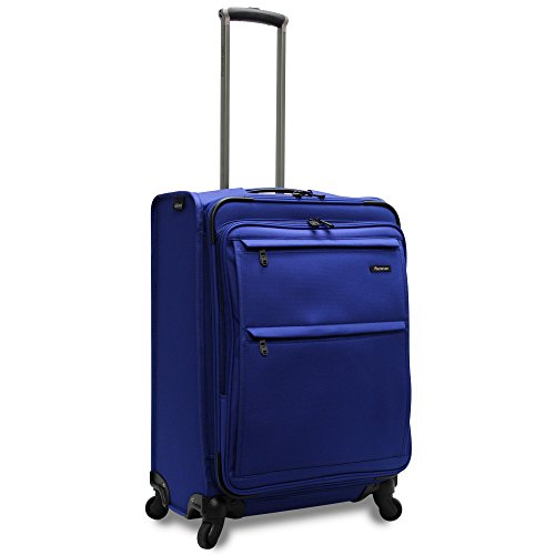 - Pathfinder Revolution Plus 25 Inch Expandable Spinner  with Suiter, Cobalt Blue, One Size