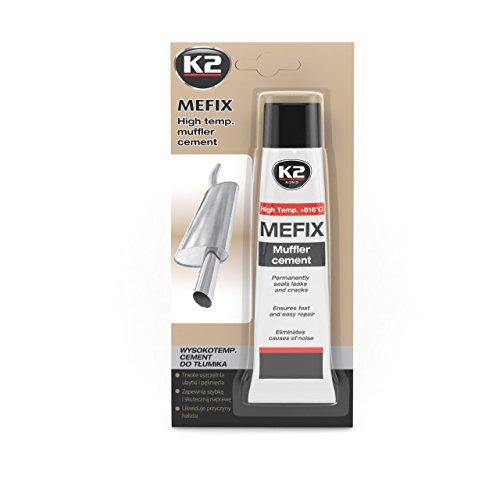 K2Mefix High-Temperature Exhaust Pipe Cement, Exhaust Repair, Exhaust Sealant, Exhaust System Repair Concrete, Sealant 140g: