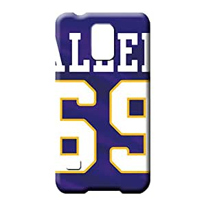 samsung galaxy s5 Protection Protector fashion mobile phone carrying skins minnesota vikings nfl football