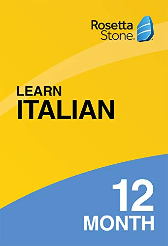 Rosetta Stone: Learn Italian for 12 months on iOS, Android, PC, and Mac  [Activation Code by Mail]
