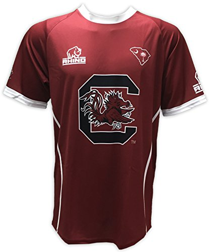 Rhino Rugby South Carolina Gamecocks Replica Home Jersey, XX-Large (Gamecocks Carolina South Football Jersey Replica)