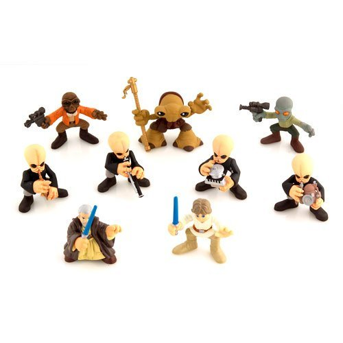 (Star Wars Galactic Heroes Deluxe Cinema Scene Mini Figure Multi Pack Cantina Band)