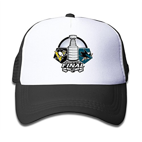 GYB HOME Sharks Cup San Jose Ice Hockey Mesh Caps/Snapback Hats/Baseball Caps/Caps/Hats For Kids