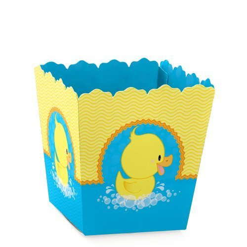 Ducky Duck - Candy Boxes Baby Shower or Birthday Party Favors (Set of 12) (Rubber Ducky Baby Shower Theme)