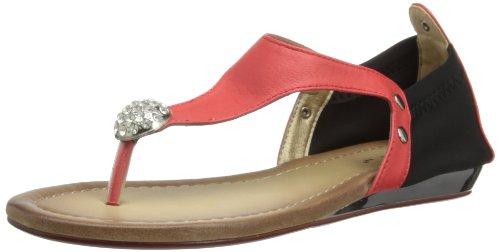 Lunar Jlh296 - Sandalias de poliuretano mujer rojo - rojo