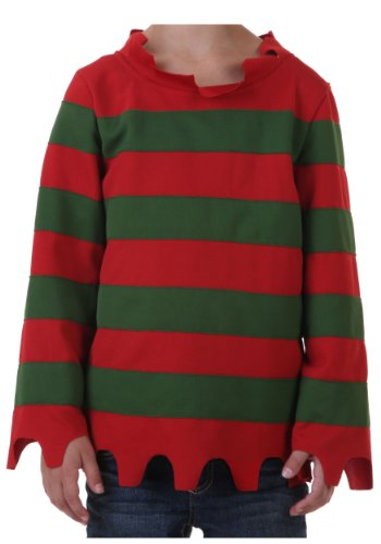 Big Boys' Nightmare Sweater Costume Medium -