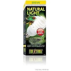Pet Exo Terra Repti-Glo 2.0 Compact Fluorescent Full Spectrum Terrarium Lamp - 26-Watt. Incadescent Supply Store/Shop