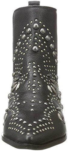Moa Fw Slip Black Boots ICHI Schwarz A Women's xg8tpE