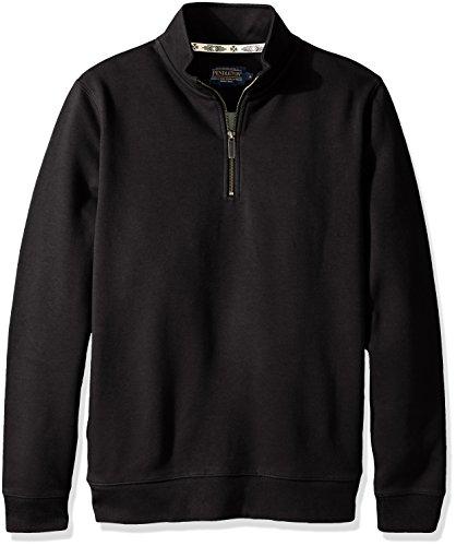 Pendleton Mens Alsea 1/4 Zip Fleece Sweatshirt