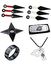 PVC Cosplay Accesorios - 10 accesorios de diadema de Cosplay de Naruto.