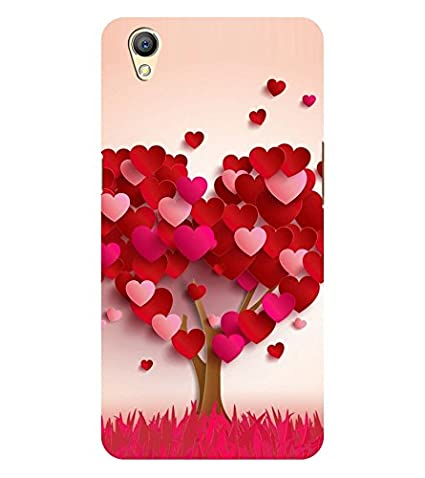 online store 27e70 8a03e Chiraiyaa Designer Printed Premium Back Cover Case for OPPO A37 (heart tree  boy girl friend valentine miss kiss nature) (Multicolor)