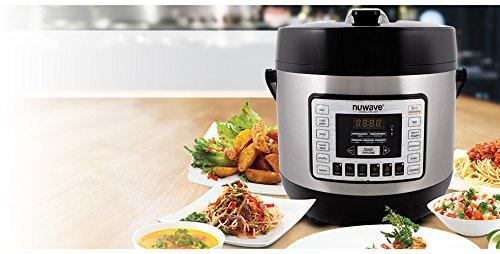 NuWave Nutri-Pot 8 Quart Digital Pressure Cooker,gray/black,8 qt. by NuWave (Image #2)