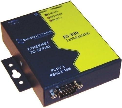 Brainboxes ES-320 ETHERNET 1 PORT RS422//485 ETHERNET DEVICE SERVER
