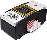 Kyuccfrsus Card Shuffler 2 Decks,Cards Shuffler Automatic Playing Poker One/Two Deck Card Shuffle Sorter Board