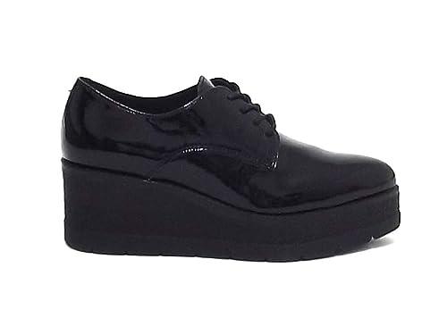 it Sneakers Sport A8102 Vernice Nero Janet 42800 Donna Amazon 8TRwFqF