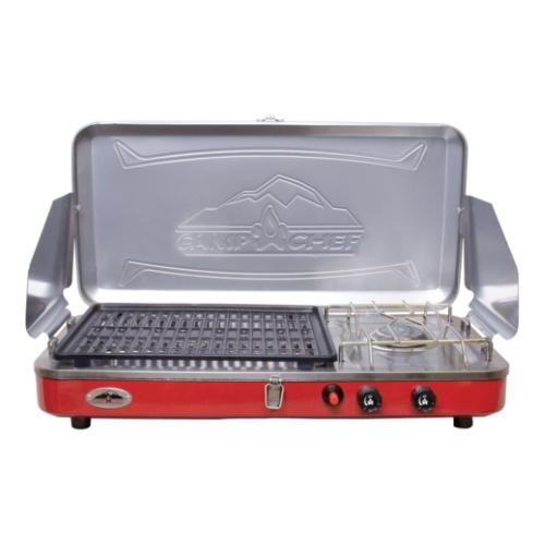 Camp Chef Rainier Grill and Portable Camp Stove, Outdoor Stuffs