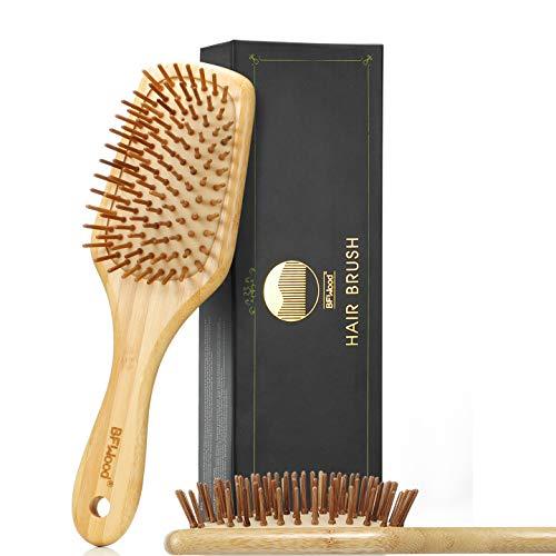 BFWood Bamboo Paddle Hairbrush