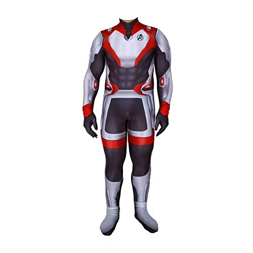 Unisex Lycra Spandex Zentai Halloween Quantum Big Code Shirt Cosplay Costumes Adult/Kids 3D Style (Adult-XL, Fat -