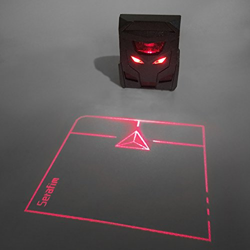 Odin Virtual Laser Projection Trackpad- World's First Holographic Mouse: The Ideal Accessory for Virtual Keyboards - Keyboard The Virtual