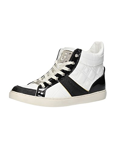 Cassé femme Chaussures fl1radele12 Fabric mod hautes Sportives Blanc blanc Rady Guess ou Rose Sneaker Blanc nbsp;col qTxdt6nd