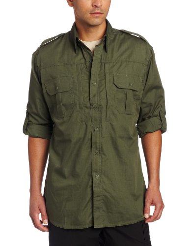 Propper Men's Long Sleeve Tactical Shirt - Medium - Olive