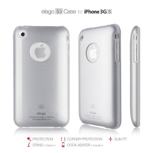 elago iPhone Titanium Metalic Silver