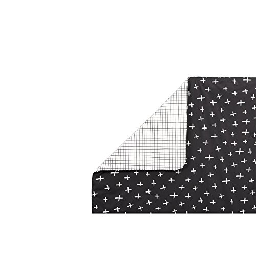 Babyletto 2-in-1 Play and Toddler Blanket, Tuxedo