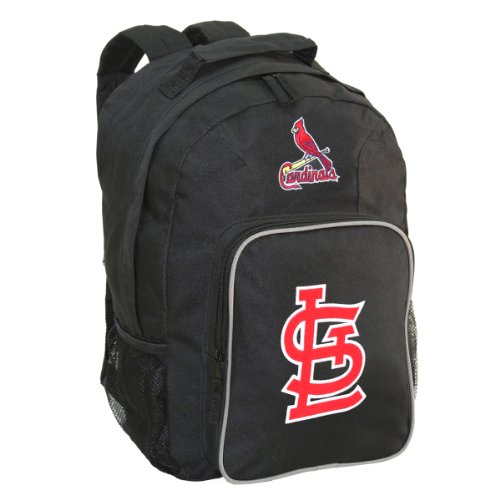 (The Northwest Company MLB St. Louis Cardinals SouthPaw Backpack, Black)