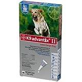 Bayer K9 Advantix II (Over 55-lbs) 4-doses