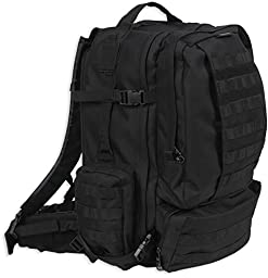 Bulldog Cases Extreme Large Modular Molle Assault Pack in Black