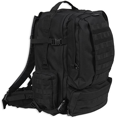 Bulldog Cases Extreme Large Modular Molle Assault Pack in Black by Bulldog Cases