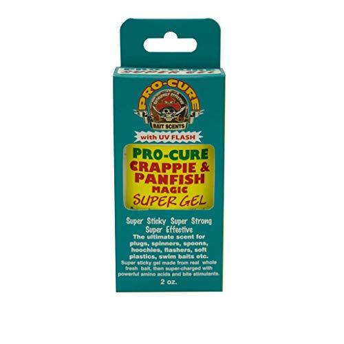 Pro-Cure Crappie & Panfish Magic Super Gel