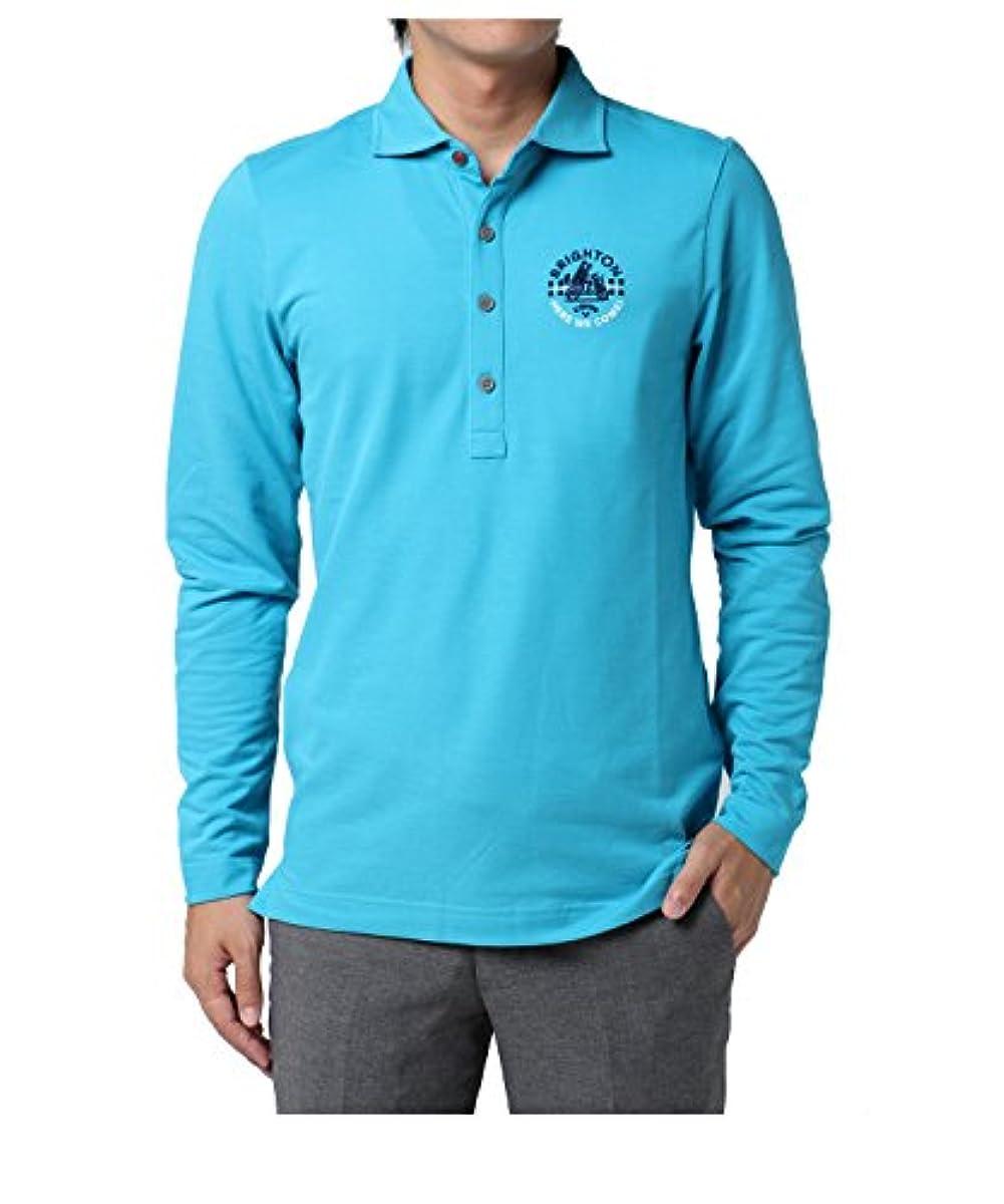 [해외] 캘러웨이고르프 CALLAWAY GOLF 긴 소매 셔츠・폴로 셔츠 사슴의 새끼 와이드 컬러 긴 소매 폴로 셔츠 241-7256503 블루 110 LL