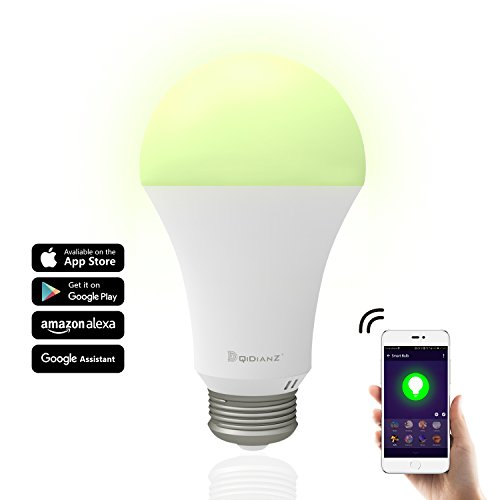Smart Bulb,DQiDianZ Large wattage 10W WiFi LED Smart Light Bulb Works with Google Home and Amazon Alexa iOS/Android APP by DQiDianZ