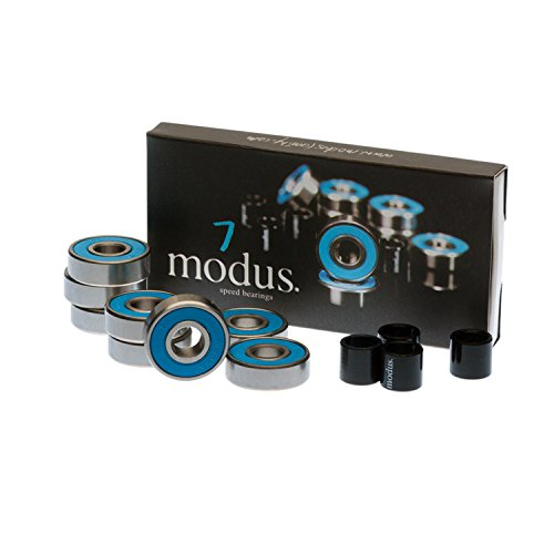 Modus Bearings 8mm ABEC 7 Skateboard Bearings by Modus Bearings