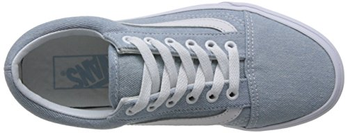 Vans Unisex Old Skool Classic Skate Shoes Denim Baby Blue cheap sale wiki discount footaction deals for sale cheap sale the cheapest urW0FchY