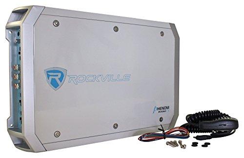 Rockville Rxm-f3 1600W Peak/800W Rms Marine/Boat 4 Channel Amplifier