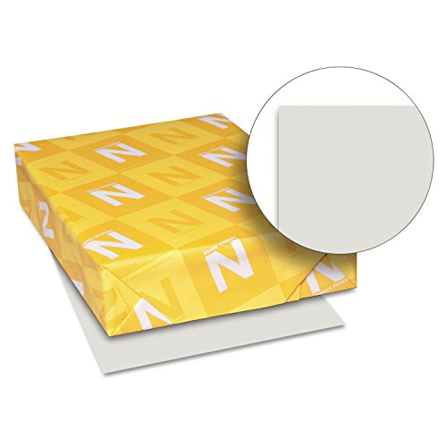 Neenah Paper 49191 Exact Index Card Stock, 90lb, 8 1/2 x 11, Gray, 250 Sheets by Exact